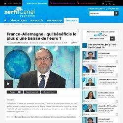 France-Allemagne : qui bénéficie le plus d'une baisse de l'euro ? - Décryptage éco