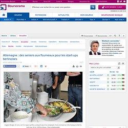 Allemagne: des seniors aux fourneaux pour les start-ups berlinoises
