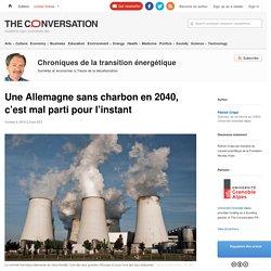 Une Allemagne sans charbon en2040, c'est malparti pourl'instant