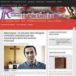 Allemagne : le calvaire des réfugiés chrétiens menacés par les musulmans dans les centres d'accueil