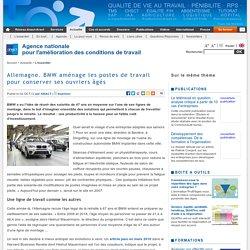 Allemagne. BMW aménage les postes de travail pour conserver ses ouvriers âgés