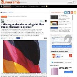 L'Allemagne abandonne le logiciel libre, trop contraignant à déployer