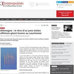 Allemagne : le rêve d'un parc éolien offshore géant tourne au cauchemar