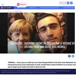 Allemagne : Facebook traîné en justice par le réfugié syrien célèbre pour son selfie avec Merkel - LCI