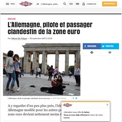 L'Allemagne, pilote et passager clandestin de la zone euro