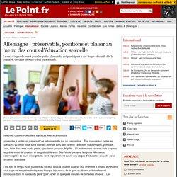 Allemagne : préservatifs, positions et plaisir au menu des cours d'éducation sexuelle