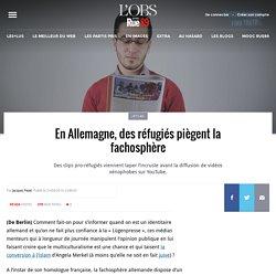 En Allemagne, des réfugiés piègent la fachosphère