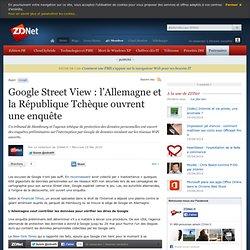 Google Street View : l'Allemagne et la République Tchèque ouvren