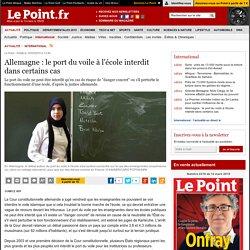 Allemagne : le port du voile à l'école interdit dans certains cas