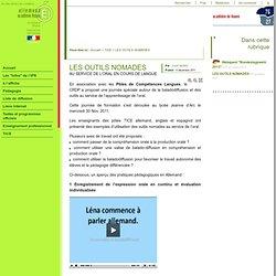 Site Allemand - Académie de Rouen - LES OUTILS NOMADES