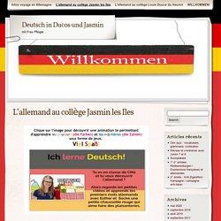 L'allemand au collège Jasmin les Iles