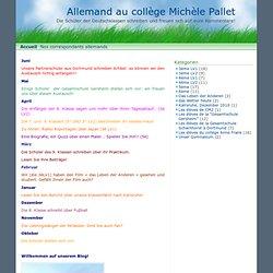 Allemand au collège Michèle Pallet