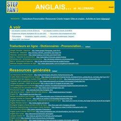 Les langues, Anglais, Allemand l' cole primaire : sites de ressources, fiches ...