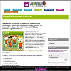 Allemand et ressources numériques – VousNousIls