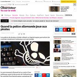 Quand la police allemande joue aux pirates - Vu sur le web