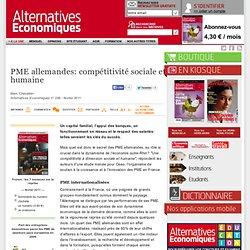 PME allemandes: compétitivité sociale et humaine