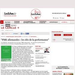 """""""PME allemandes : les clés de la performance"""""""