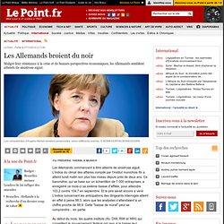 Les Allemands broient du noir