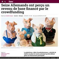 Seize Allemands ont perçu un revenu de base financé par le crowdfunding