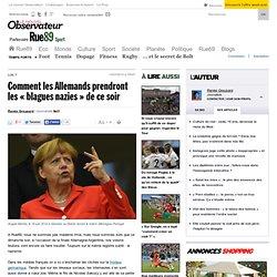 Comment les Allemands prendront les «blagues nazies» de ce dimanche
