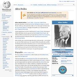 Allen Dulles Wikipedia