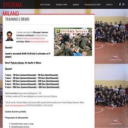 Scuola di arti marziali Milano Italia
