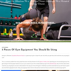 Allentown PA Gyms - Gyms In Allentown Pa