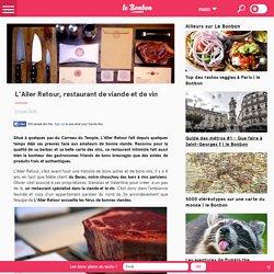 L'Aller Retour, restaurant de viande et de vin