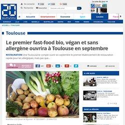 Le premier fast-food bio, végan et sans allergène ouvrira à Toulouse en septembre