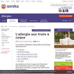 Allergie aux fruits à coque : les signes - Ooreka