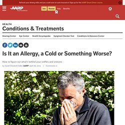 Allergies, Flu or a Cold? How to Tell Which You've Got