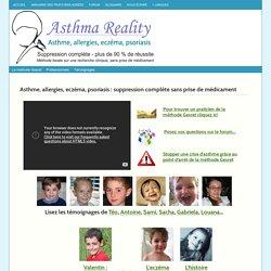 Asthme, allergies, eczéma, psoriasis : la méthode Gesret :
