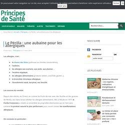 Le Périlla : une aubaine pour les allergiques - Thérapies - Principes de Santé