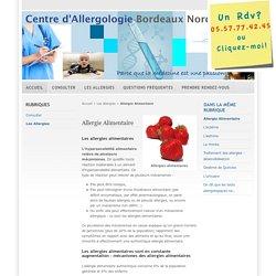 Allergie Alimentaire - Centre d'Allergologie Bordeaux Nord - consulter un allergologue à Bordeaux
