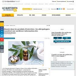 Polluants dans les produits d'entretien : les allergologues demandent une meilleure information des consommateurs