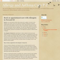 Allergy and Asthma Care P.C: Book an appointment now with Allergists in Newark NJ