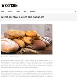 Wheat Allergy: Causes and Diagnoses - Iowa Western