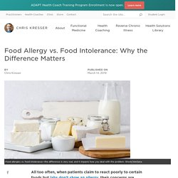 Food Allergy vs. Food Intolerance: Why the Difference Matters