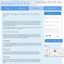 Allergy Treatment in Omaha, NE