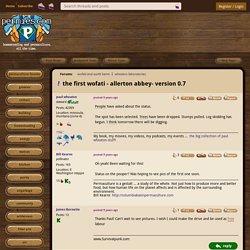 the first wofati - allerton abbey- version 0.7 (wofati and earth berm forum at permies)