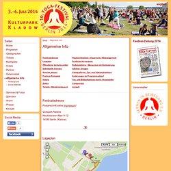 Allgemeine Info » 8. Yoga-Festival Berlin vom 15. - 17. Juni 2012