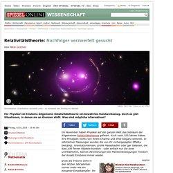 Relativitätstheorie: Nachfolger verzweifelt gesucht