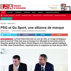 PSG et Go Sport, une alliance de marque - Sport, Articles sportifs