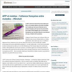 AFP et médias : l'alliance française entre malades – #Gratuit
