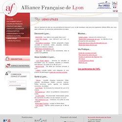Alliance Française de Lyon : LIENS UTILES