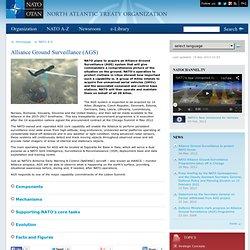 Topic: Alliance Ground Surveillance (AGS)
