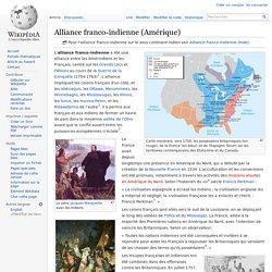 Alliance franco-indienne (Amérique)