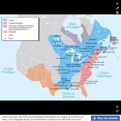 Nouvelle-France map-fr - Alliance franco-indienne (Amérique)