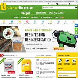 Alliance-Elevage - matériel d'élevage et produits d'élevage pour les bovins, ovins, caprins et... le cheval !