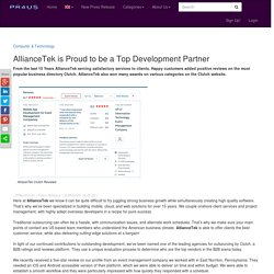 AllianceTek is Proud to be a Top Development Partner